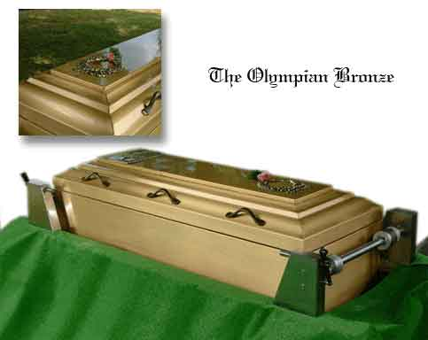 The Olympian Bronze at Flander's Burial Service