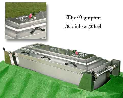 The Olympian SS at Flander's Burial Service